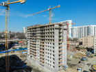Ход строительства дома Секция 1 в ЖК Гвардейский 3.0 - фото 16, Май 2021