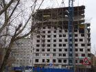 Жилой дом: ул. Сазанова, д. 15 - ход строительства, фото 19, Апрель 2016