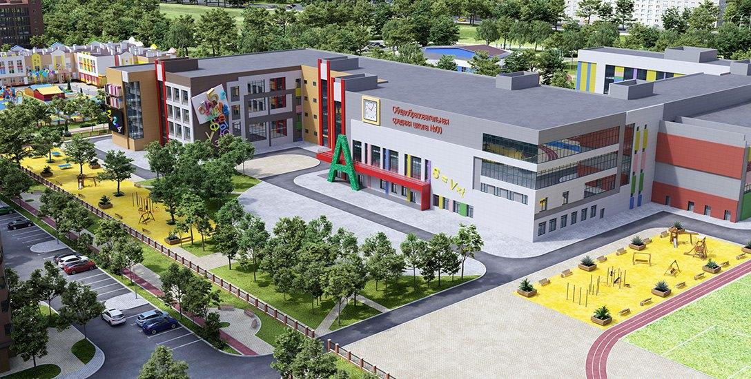 Началось строительство школы в микрорайоне «Вересаево» в Ростове - фото 1