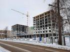 Ход строительства дома № 1 первый пусковой комплекс в ЖК Маяковский Парк - фото 58, Январь 2021
