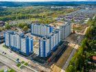 Ход строительства дома № 17 в ЖК Торпедо - фото 18, Октябрь 2019