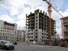 ЖК Каскад на Менделеева - ход строительства, фото 3, Май 2020