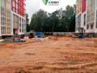 Ход строительства дома № 1 в ЖК Клевер - фото 25, Сентябрь 2019