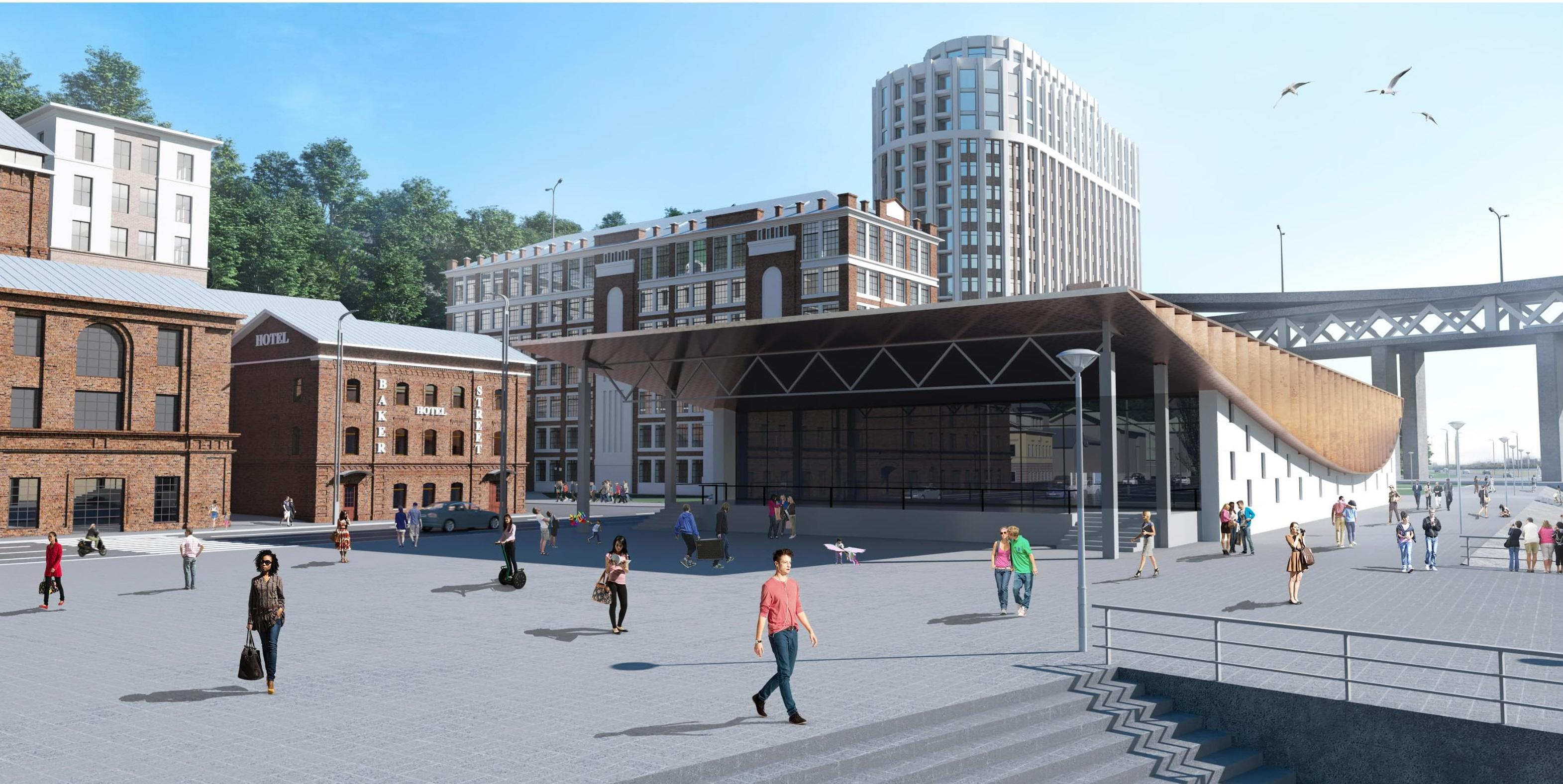 Первая ивент-площадка  появится на улице Черниговской уже в 2019 году в рамках проекта редевелопмента - фото 2