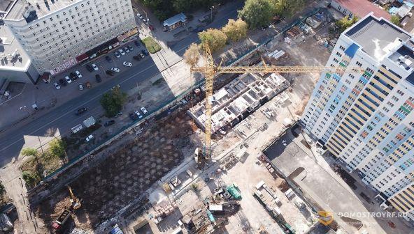 """Строительство ЖК """"Олимп"""" в Самаре вышло на новый уровень"""