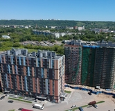 Ход строительства дома №8 в ЖК Октава -