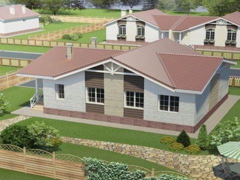Дом 2 типа в Микрогород Стрижи - фото 9