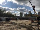 Ход строительства дома № 1 в ЖК Удачный 2 - фото 157, Октябрь 2018
