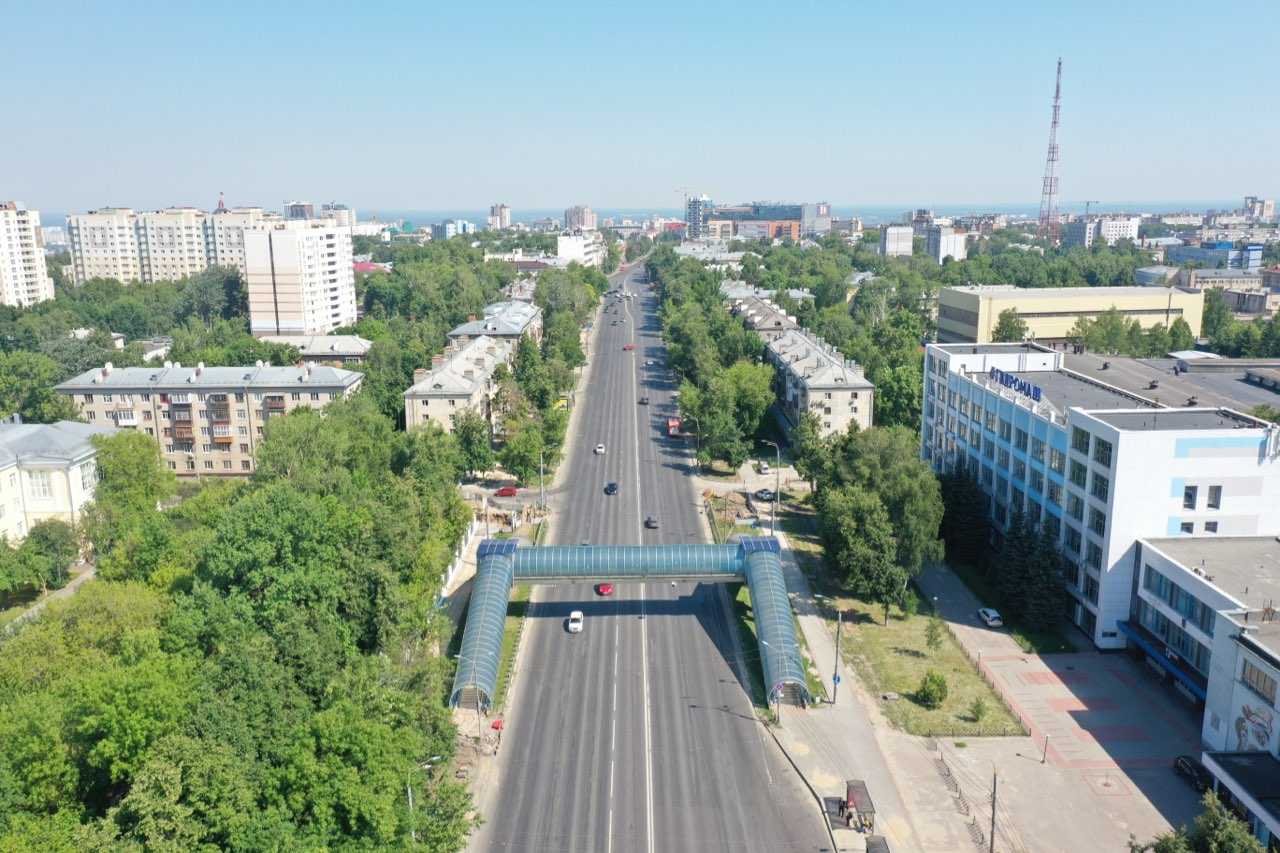 Проспект Гагарина начали ремонтировать в Нижнем Новгороде - фото 1