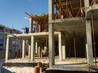 Ход строительства дома № 1 в ЖК Город чемпионов - фото 86, Октябрь 2014
