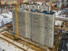Ход строительства дома № 10 в ЖК Корабли - фото 33, Март 2019