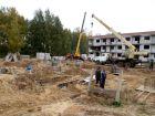 Ход строительства дома № 5 в ЖК Мега - фото 26, Октябрь 2017