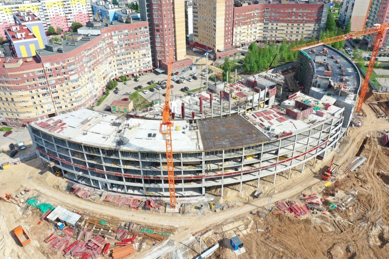 Готовность корпусов «Школы 800» в Нижнем Новгороде составляет 80-90% - фото 1