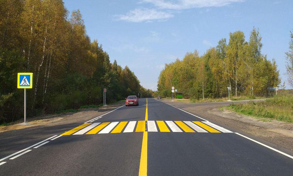 Завершена приемка отремонтированной трассы Нижний Новгород — Киров