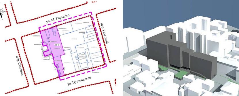 Утвержден проект планировки и межевания территория в центре Ростова для строительства ЖК