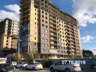 Ход строительства дома Литер 1 в ЖК Династия - фото 28, Октябрь 2019