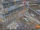 Ход строительства дома Литер 22 в ЖК Светлоград - фото 6, Март 2021