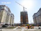 ЖК Горизонт - ход строительства, фото 6, Апрель 2021
