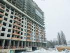 Ход строительства дома Литер 1 в ЖК Первый - фото 130, Февраль 2018