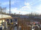 Ход строительства дома Литер 1 в ЖК Грин Парк - фото 6, Февраль 2021