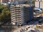 Ход строительства дома Литер 1 в ЖК Звезда Столицы - фото 110, Сентябрь 2018