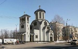 Храм наулице 50-летия Победы, 9 вМосковском районе